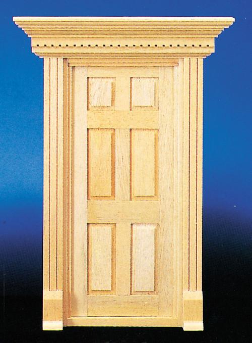 Dollhouse City - Dollhouse Miniatures Yorktown 6-Panel Door