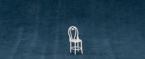 Dollhouse City - Dollhouse Miniatures Two Chairs - White