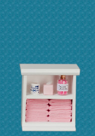 Bath Cabinet - Small and Pink