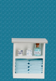 Bath Cabinet - Small and Blue