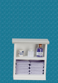 Bath Cabinet - Small and Lavender