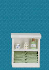 Bath Cabinet - Small and Green