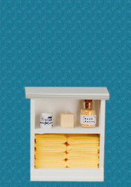 Bath Cabinet - Small and Yellow