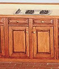 Wide Base Cabinet Kits - Assembled