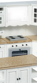 Stove and Oven no Microwave