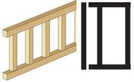 Dollhouse City - Dollhouse Miniatures Porch Fence