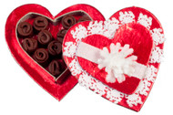 Heart Shape Candy Box and Candy