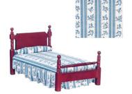 Single Bedroom Set - Mahogany
