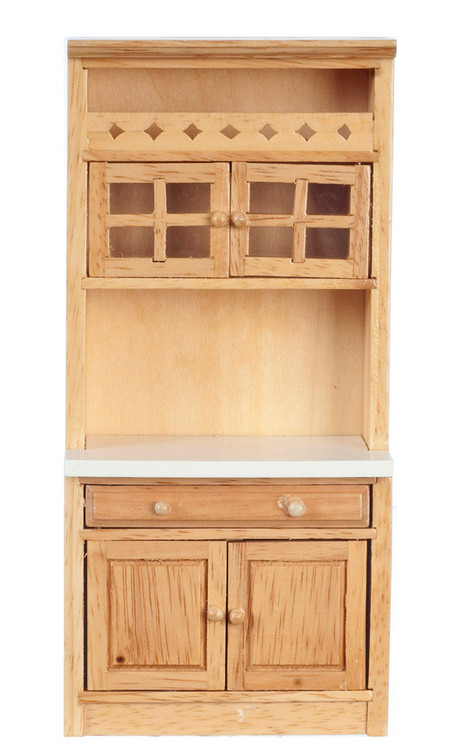 Caninet with Shelves - Oak