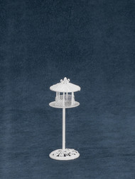 Dollhouse City - Dollhouse Miniatures Bird Feeder - White