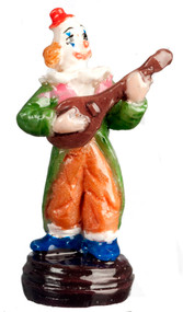 Dollhouse City - Dollhouse Miniatures Clown Banjo