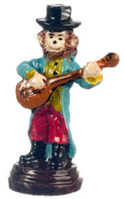 Dollhouse City - Dollhouse Miniatures Monkey Banjo