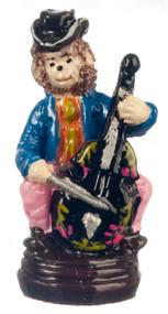 Dollhouse City - Dollhouse Miniatures Monkey Cellist