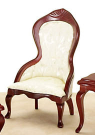 Victorian Ladies Chair - White