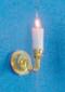 Dollhouse City - Dollhouse Miniatures Single Candle Sconce