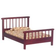 Bed - Mahogany