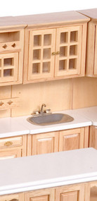 Caninet with Sink - Oak