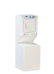 Stacked Washer/Dryer - White