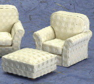 Modern Chair - Ottoman