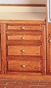 2in Base Cabinet Kit-  Assembled