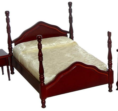 Cannonball Bed - Mahogany