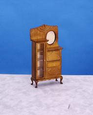 Dollhouse City - Dollhouse Miniatures Side-by-side - Walnut