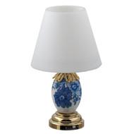 LED Blue and White Porcelain Table Lamp