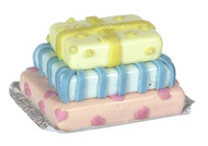 Dollhouse City - Dollhouse Miniatures Boxes of Gifts Cake Set