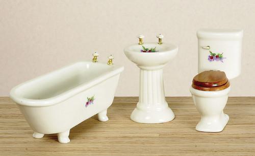 Bathroom Set - Decal