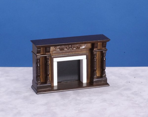 Vitorian Fireplace - Walnut