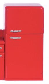 1950's Refrigerator - Red