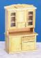 Dollhouse City - Dollhouse Miniatures Flour Bin Hutch - Oak