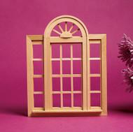 Cirlcehead Double Casement Window