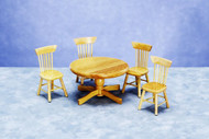 Table with Chairs - Oak
