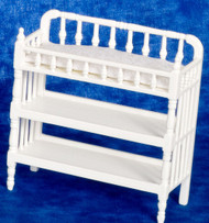 Victorian Changing Table - White