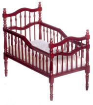 Victorian Crib - Mahogany