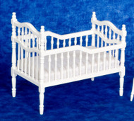 Victorian Crib - White