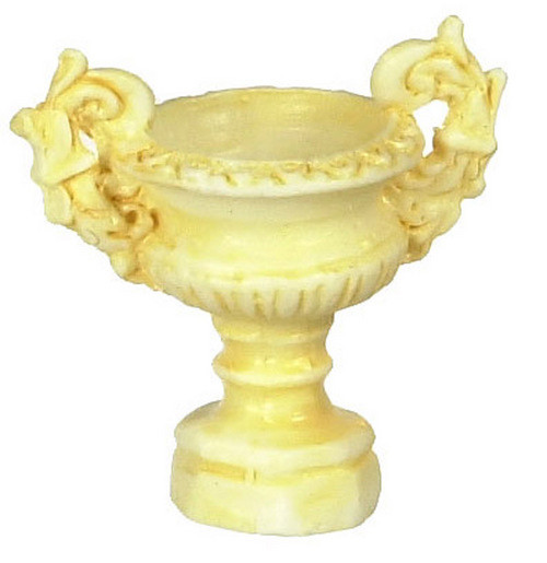 Dollhouse City - Dollhouse Miniatures Ancient Urn Set - Ivory