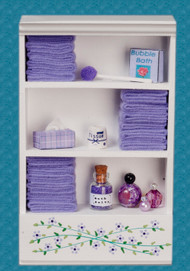 Bath Cabinet - Large and Lavender