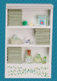 Bath Cabinet - Large and Green