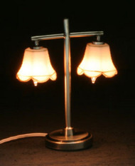 Modern Table Lamp with 2 Tulips
