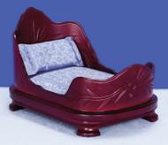 Belter Bed - Mahogany