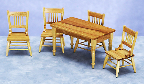 Tables and Chairs Set - Oak