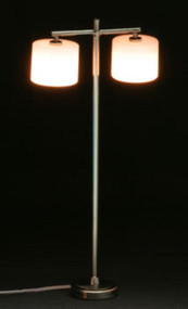 Modern Floor Lamp and 2 Palace Shade