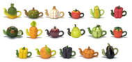 Dollhouse City - Dollhouse Miniatures Teapots - Assorted