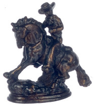 Dollhouse City - Dollhouse Miniatures Rodeo Brass