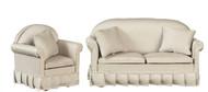 Sofa & Chair Set - Gray