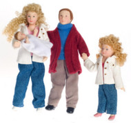 Modern Doll Family Set