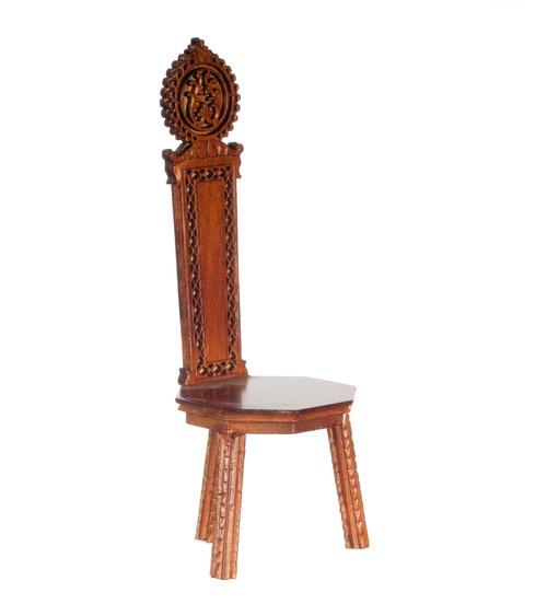 Sgabello/Italy Chair - Walnut