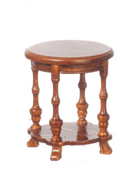 1930 Round Occasional Table - Walnut